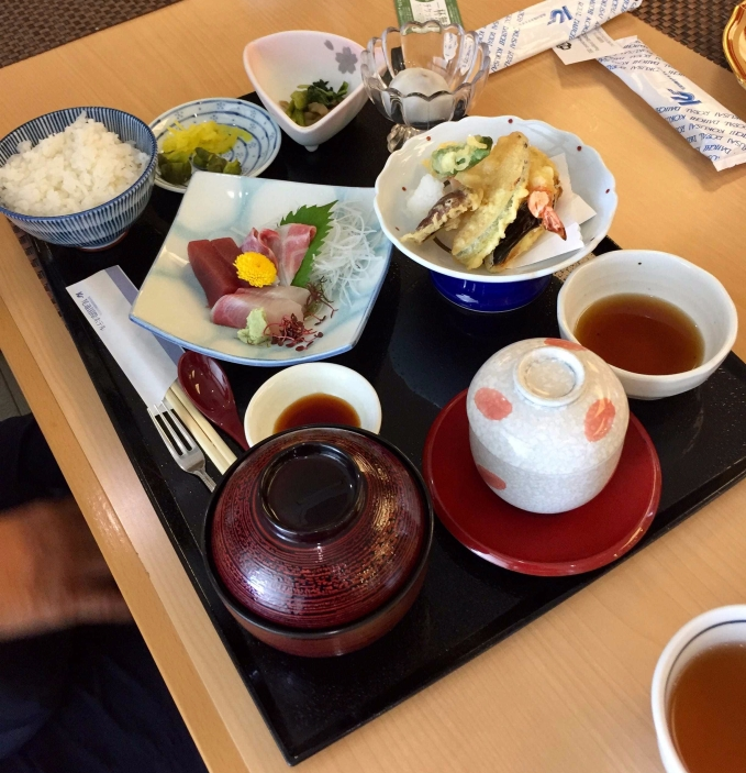 Japanese lunch for my wife