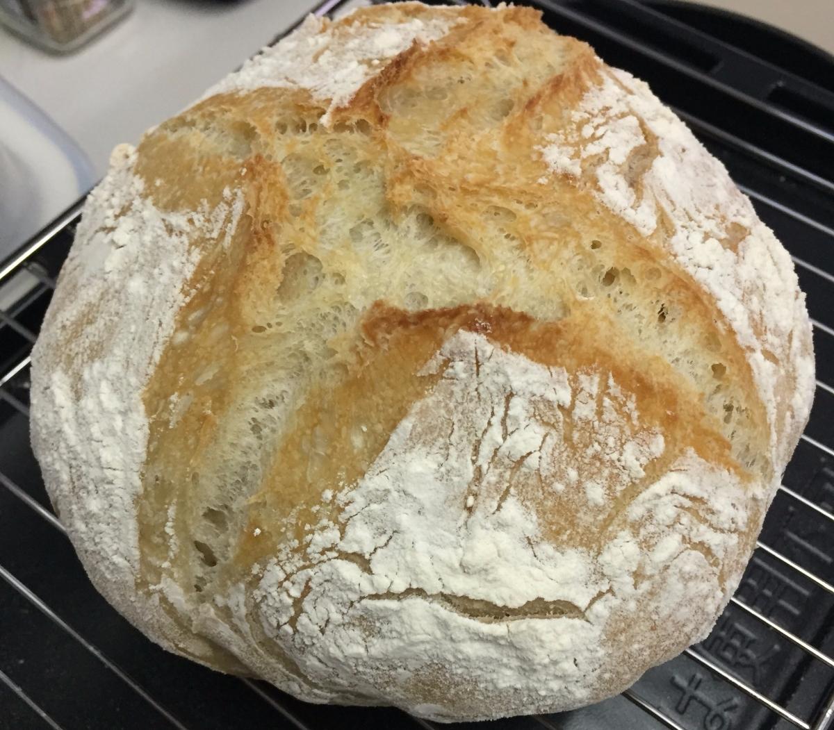 免揉麵包,真的這樣神奇?No-knead Bread, is this a magic?