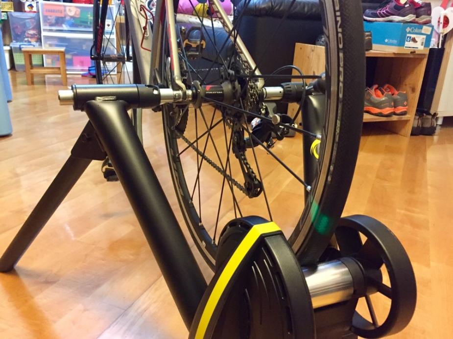 CycleOps Magnus Smart Trainer- Left Rear View