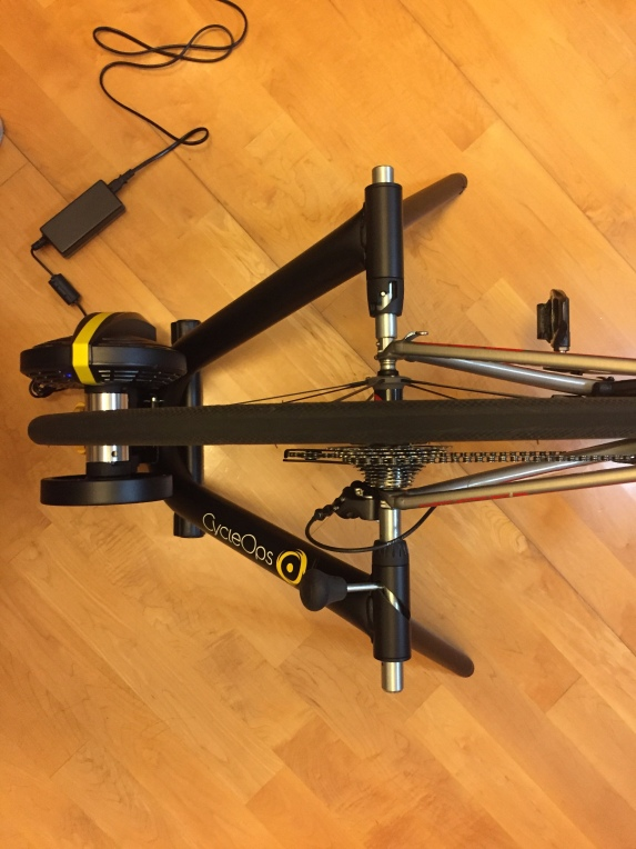 CycleOps Magnus Smart Trainer- Top View