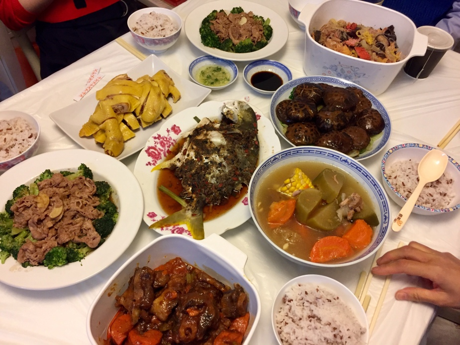 A cheerful Hoi Nin Fan 一頓愉快的開年飯