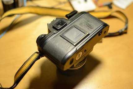 Nikon EM (Rear View)