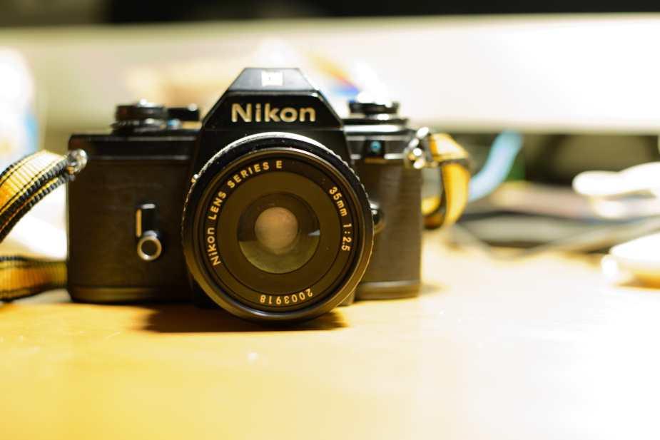 Nikon EM (Front View)