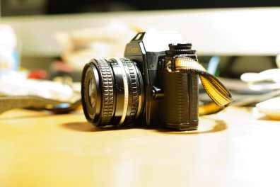 Nikon EM (Left View)