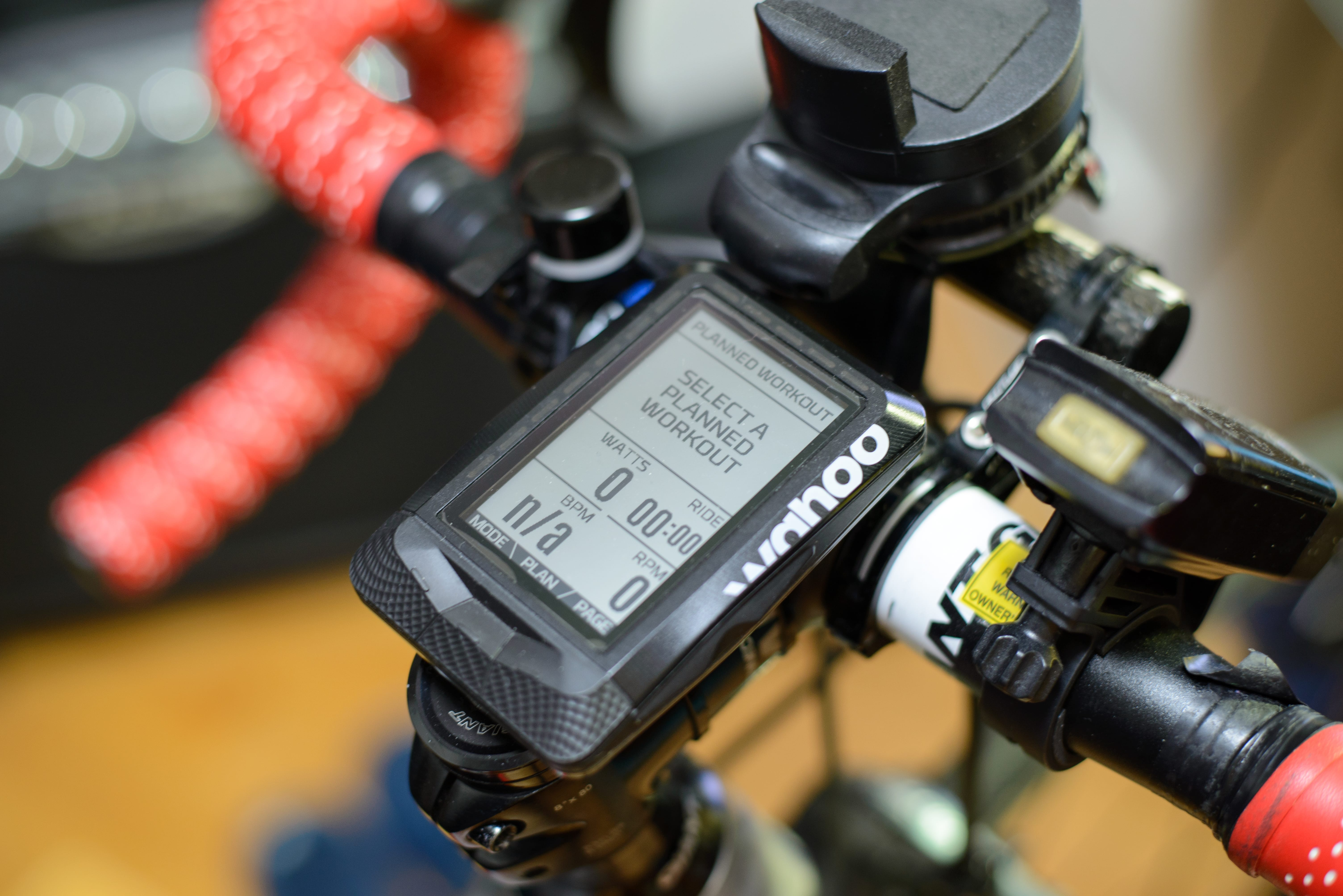 Wahoo ELEMNT - Planned Workout