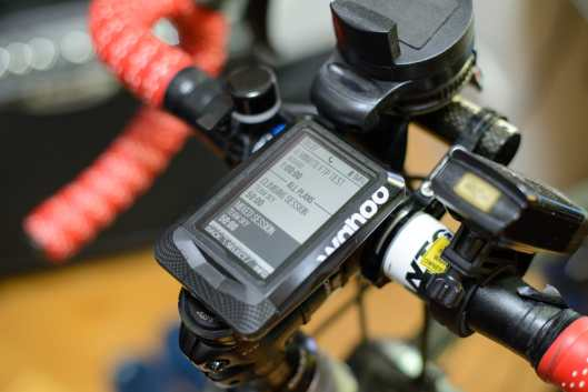 Wahoo ELEMNT - Using built-in Team SKY training plan