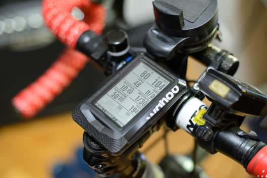 Wahoo ELEMNT - Team SKY training plan in progress