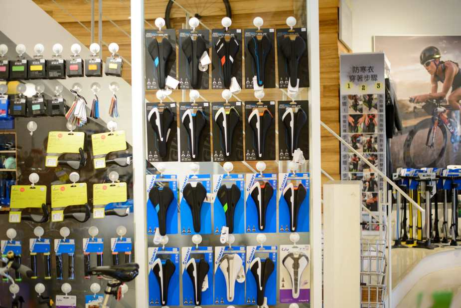 Full range of Giant Road Bike Saddles