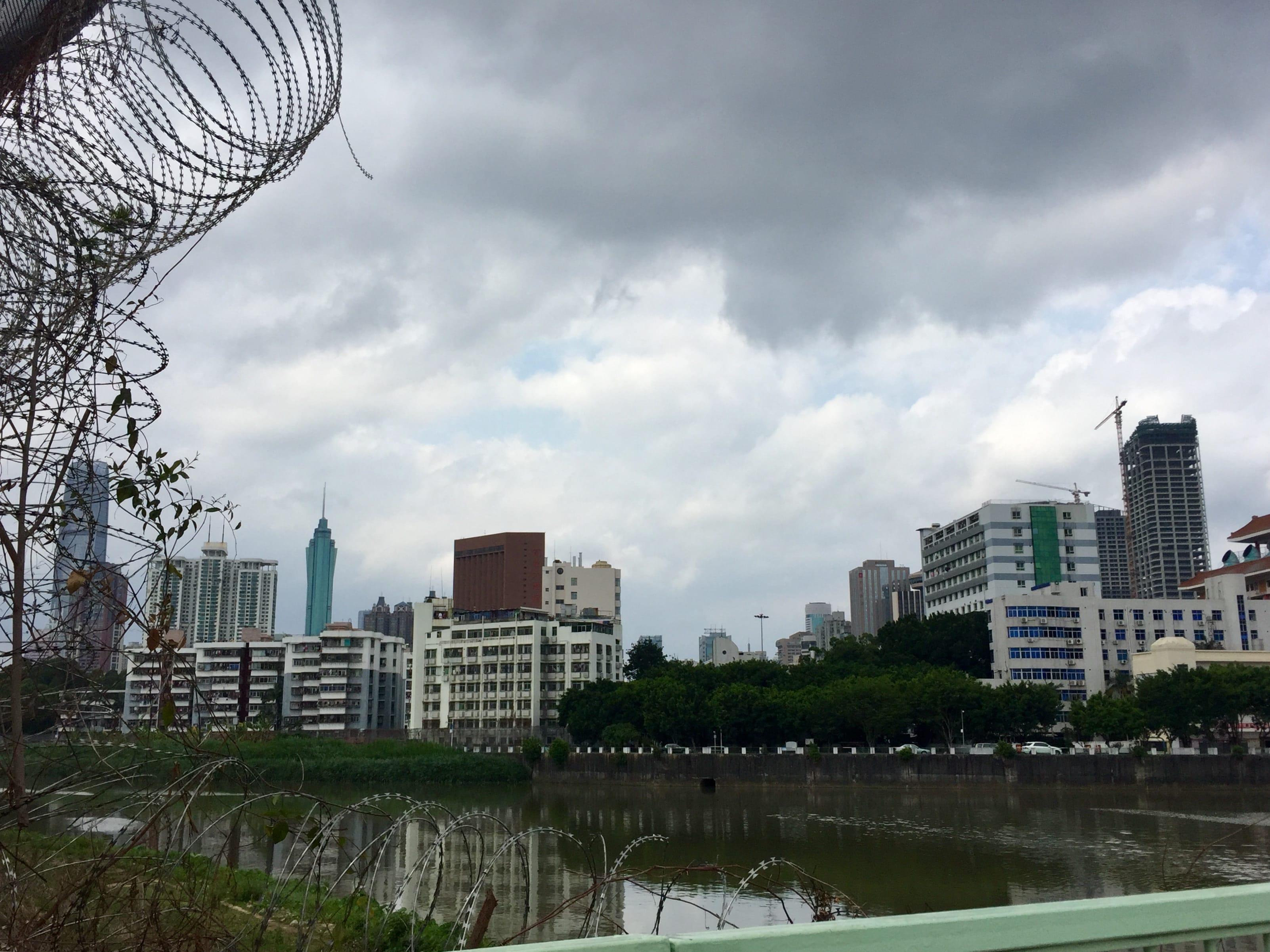Shenzhen City in Mainland China