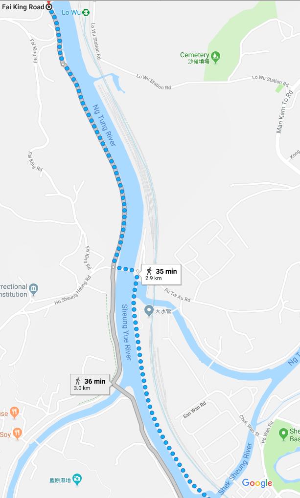 Maintenance Path along Ng Tung River