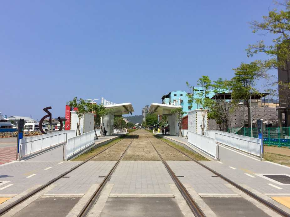Kaohsiung Circular Light Rail - Dayi Pier-2 Station