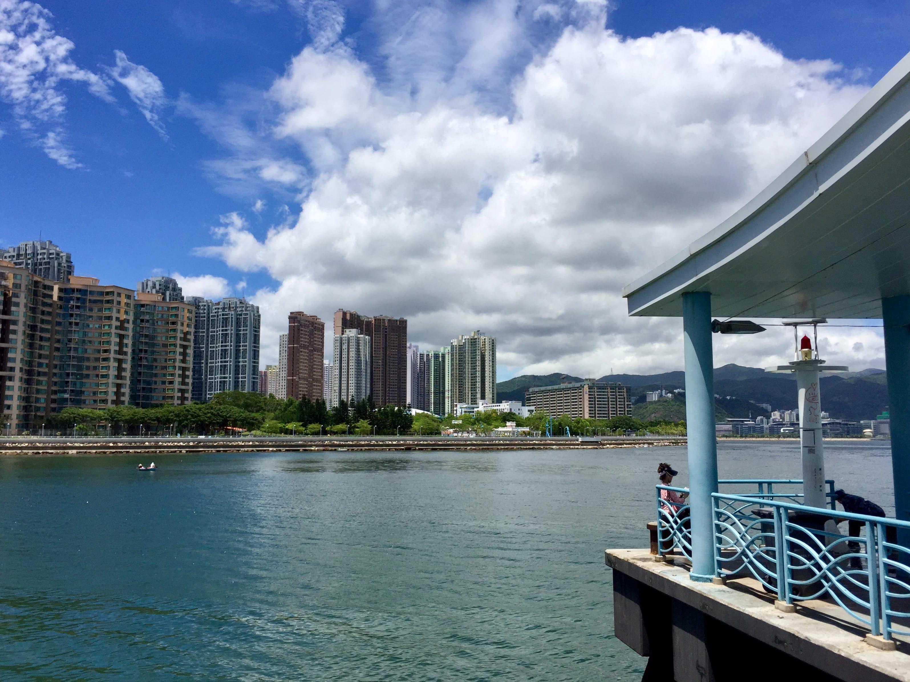Ma On Shan Promenade looking from the Wu Kai Sha Pier