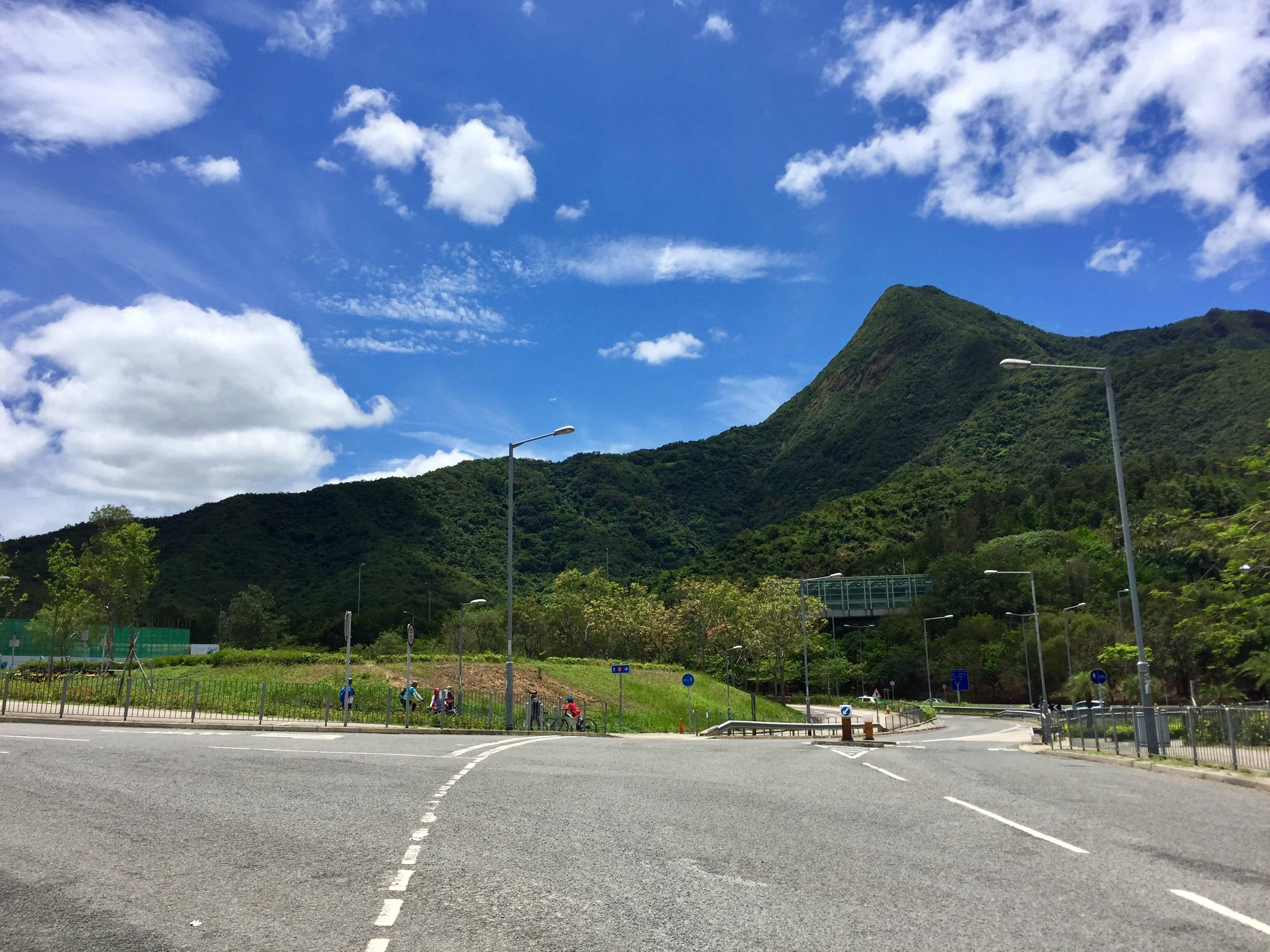 The famous Ma On Shan, the 4th highest peak in Hong Kong