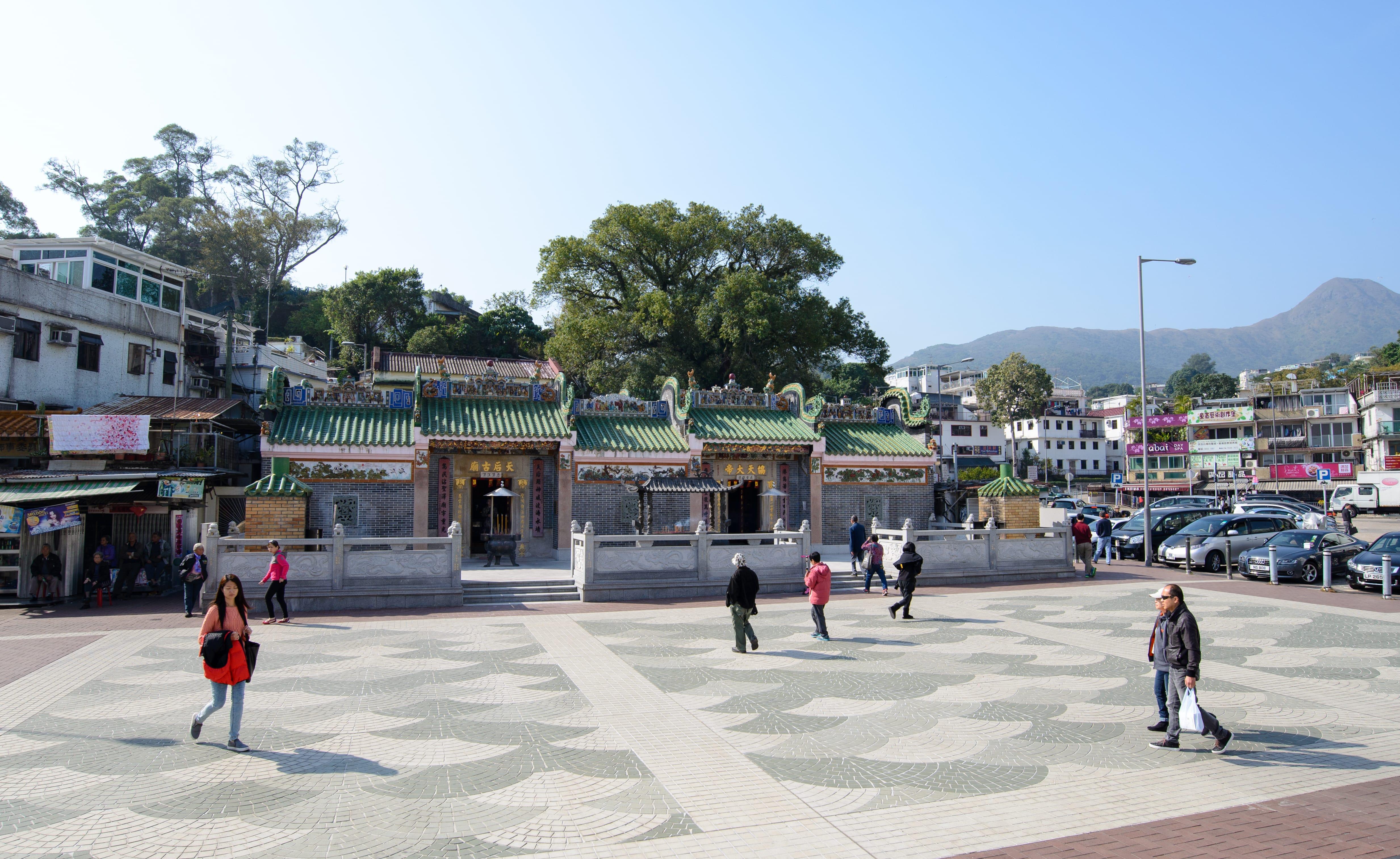 Tin Hau Temple at Sai Kung City Area