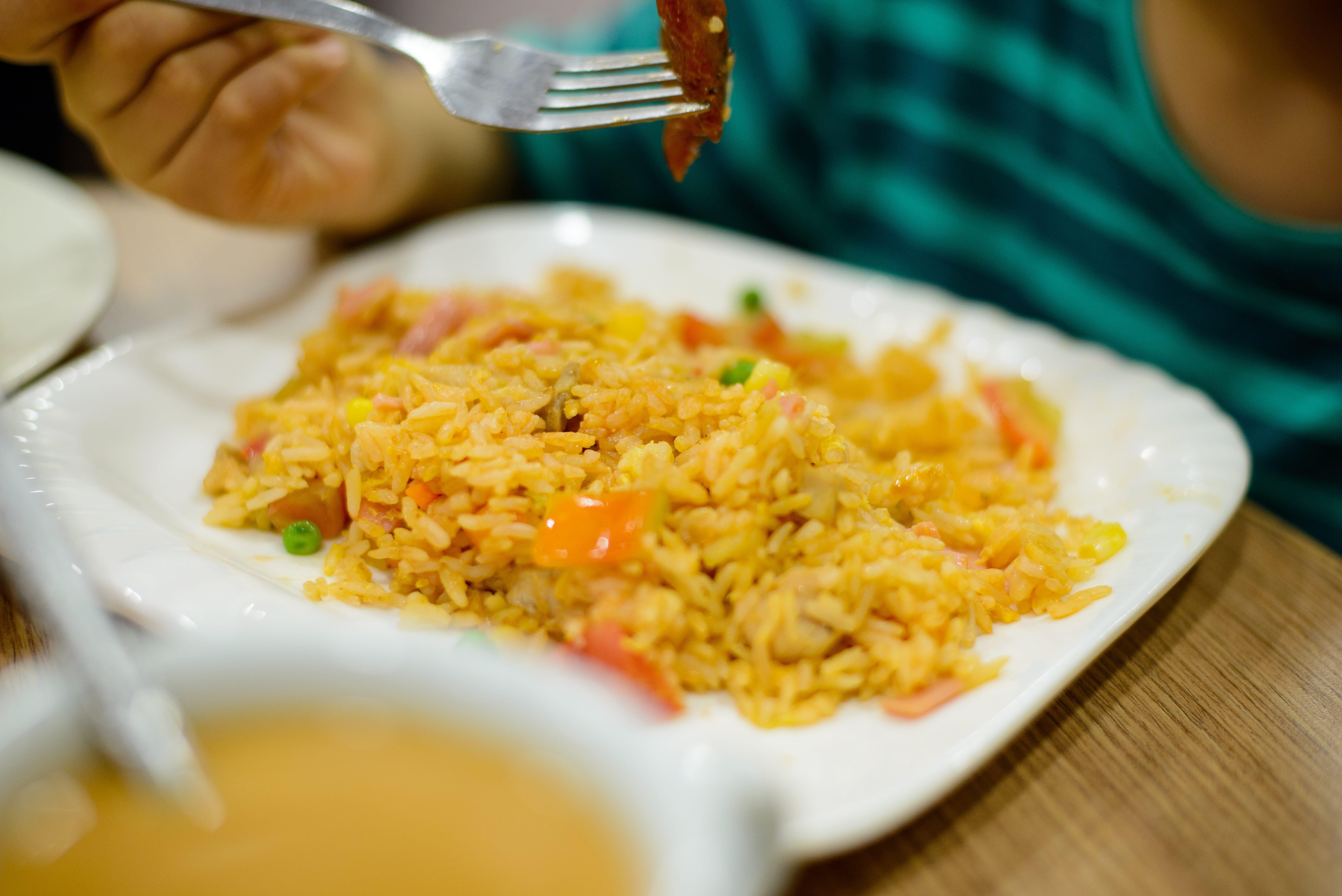 Western style fried rice - my boy's favourite