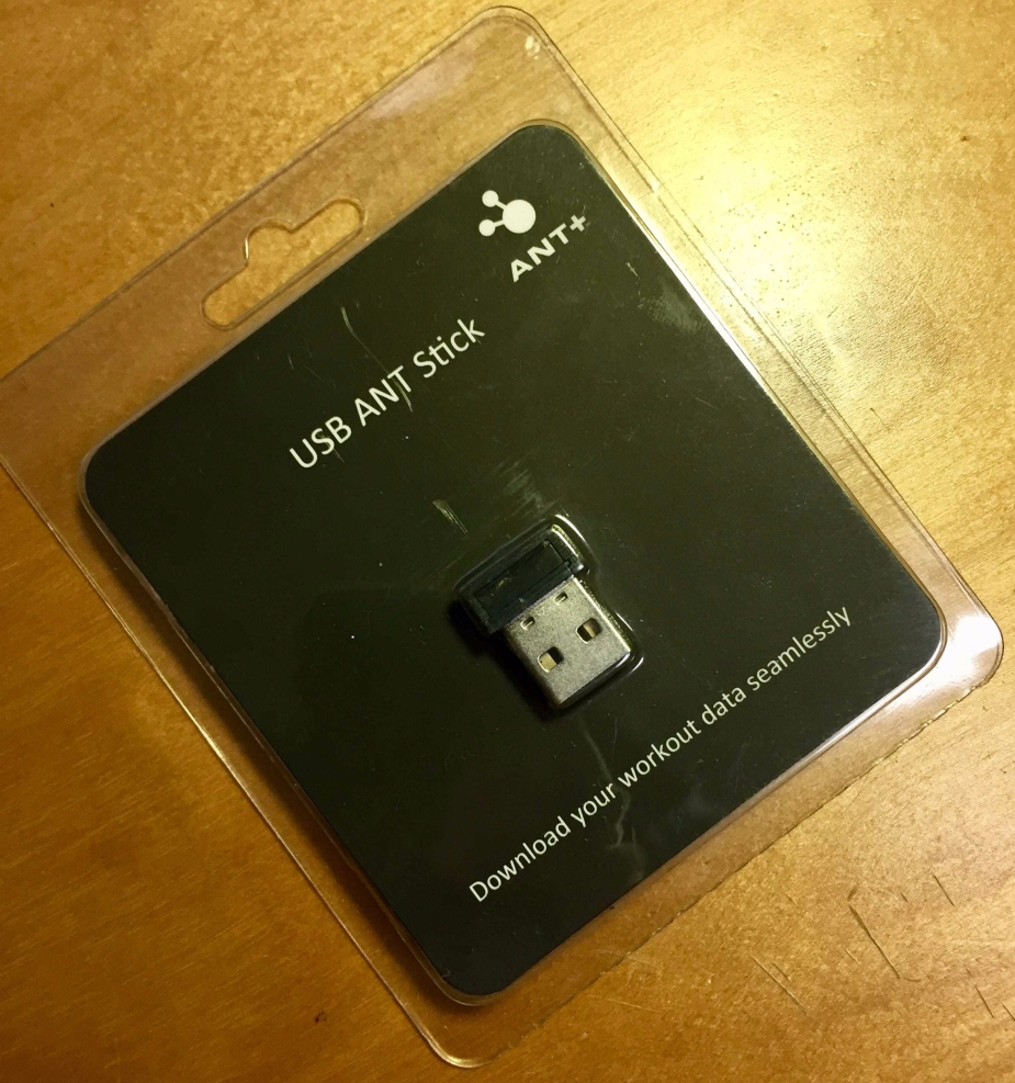 USB ANT+ Dongle from Amazon