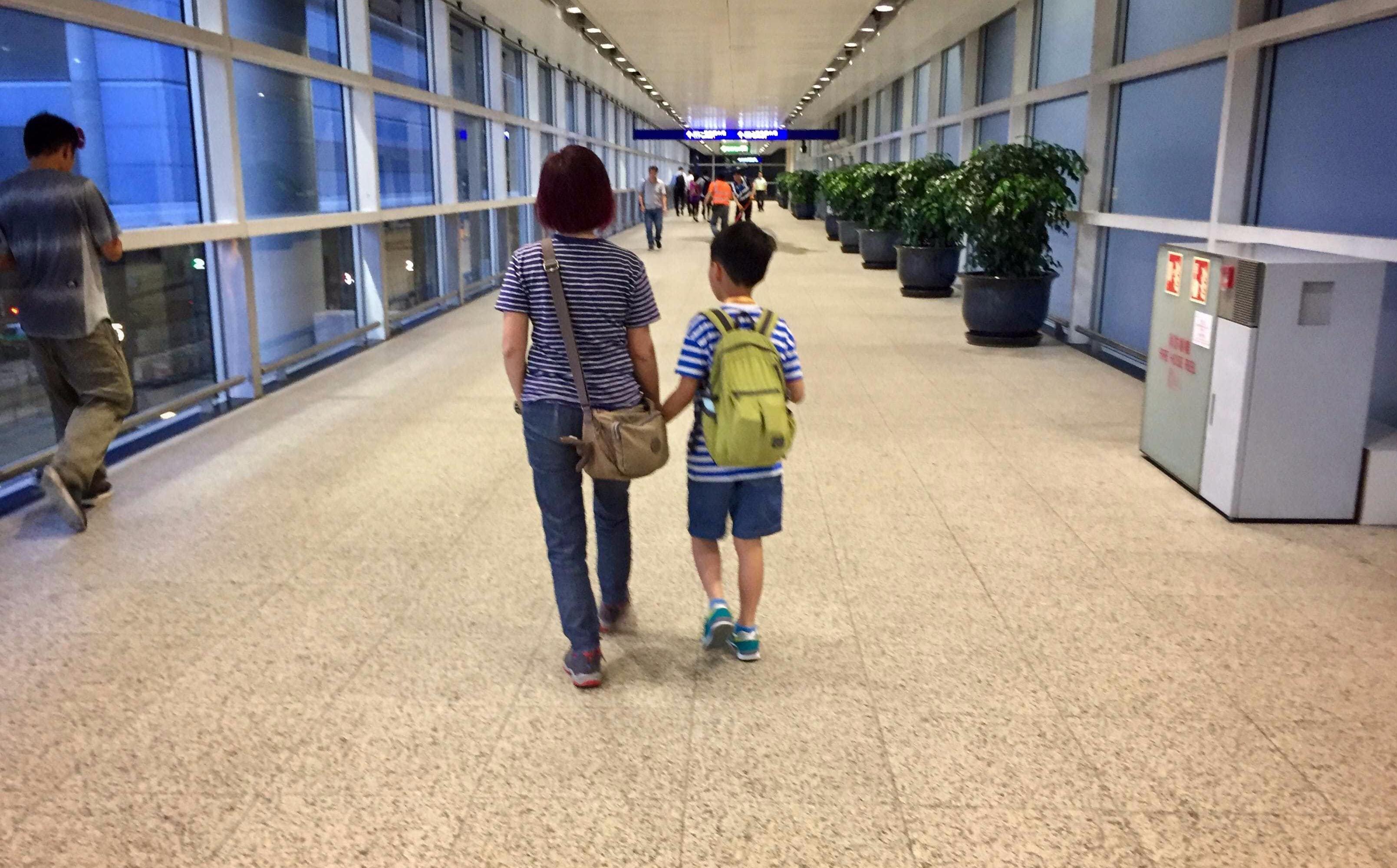 Arrived at Hong Kong International Airport