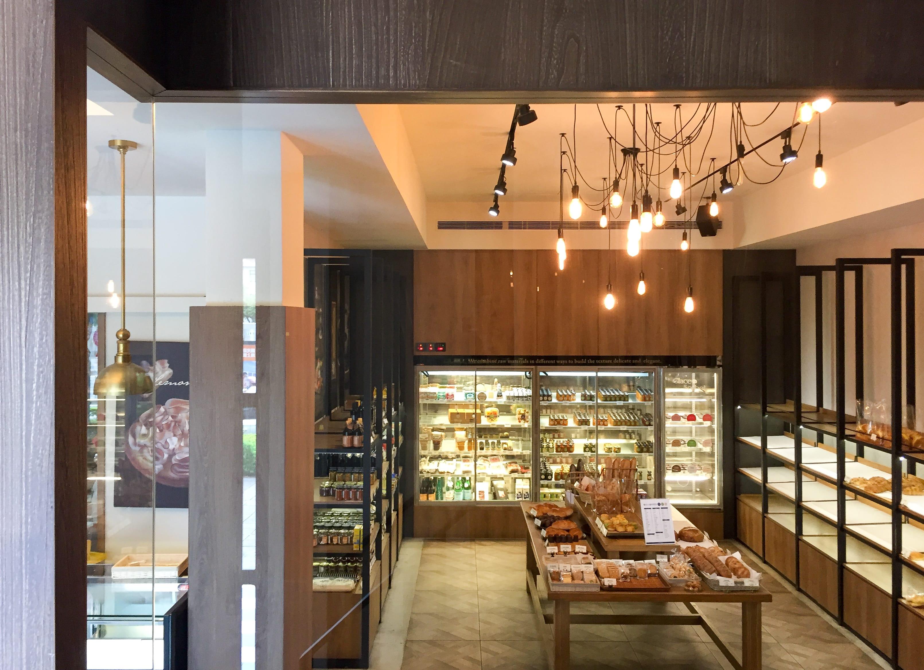 LA ONE Bakery on ground floor