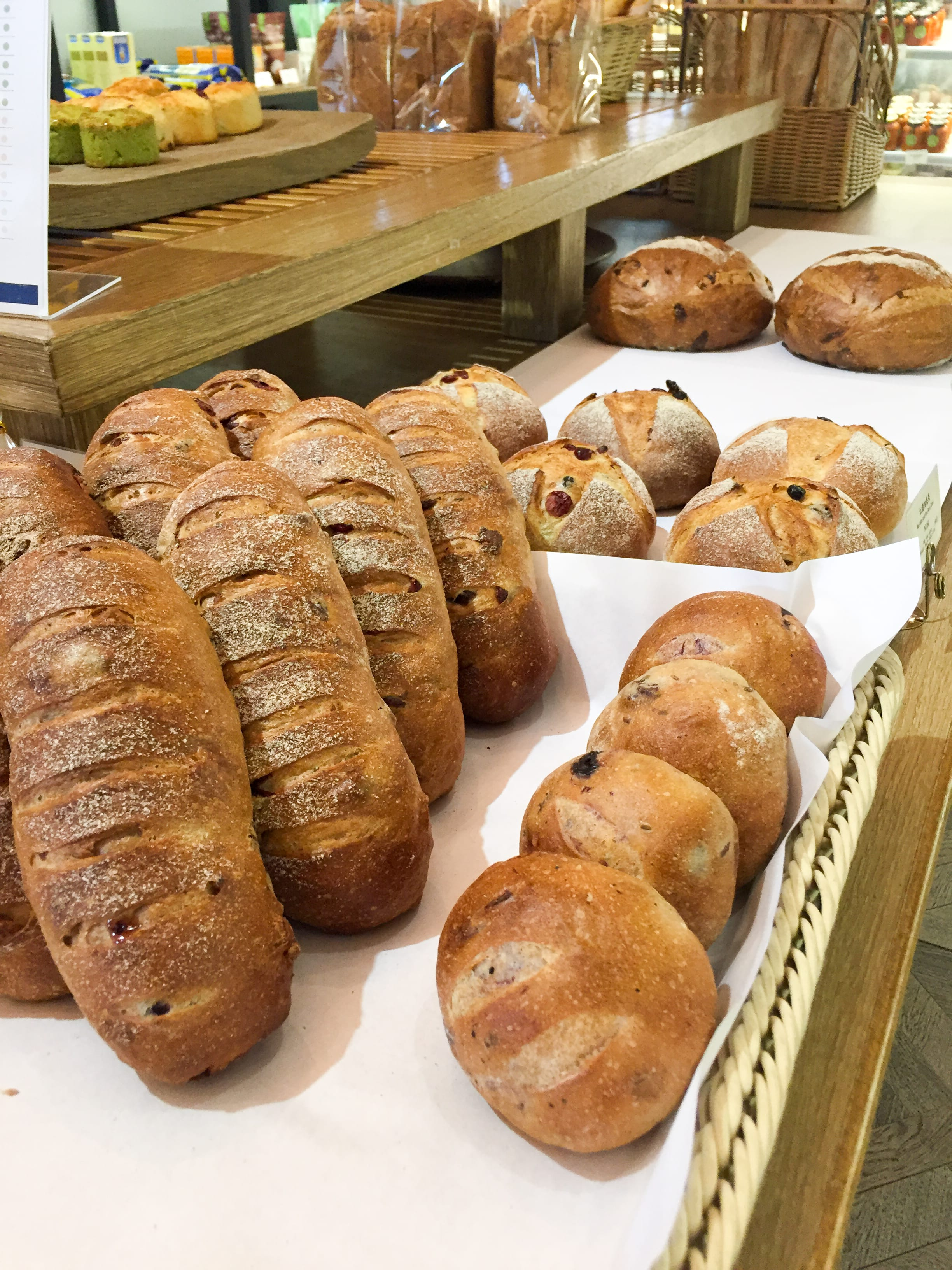 Variety of European Breads