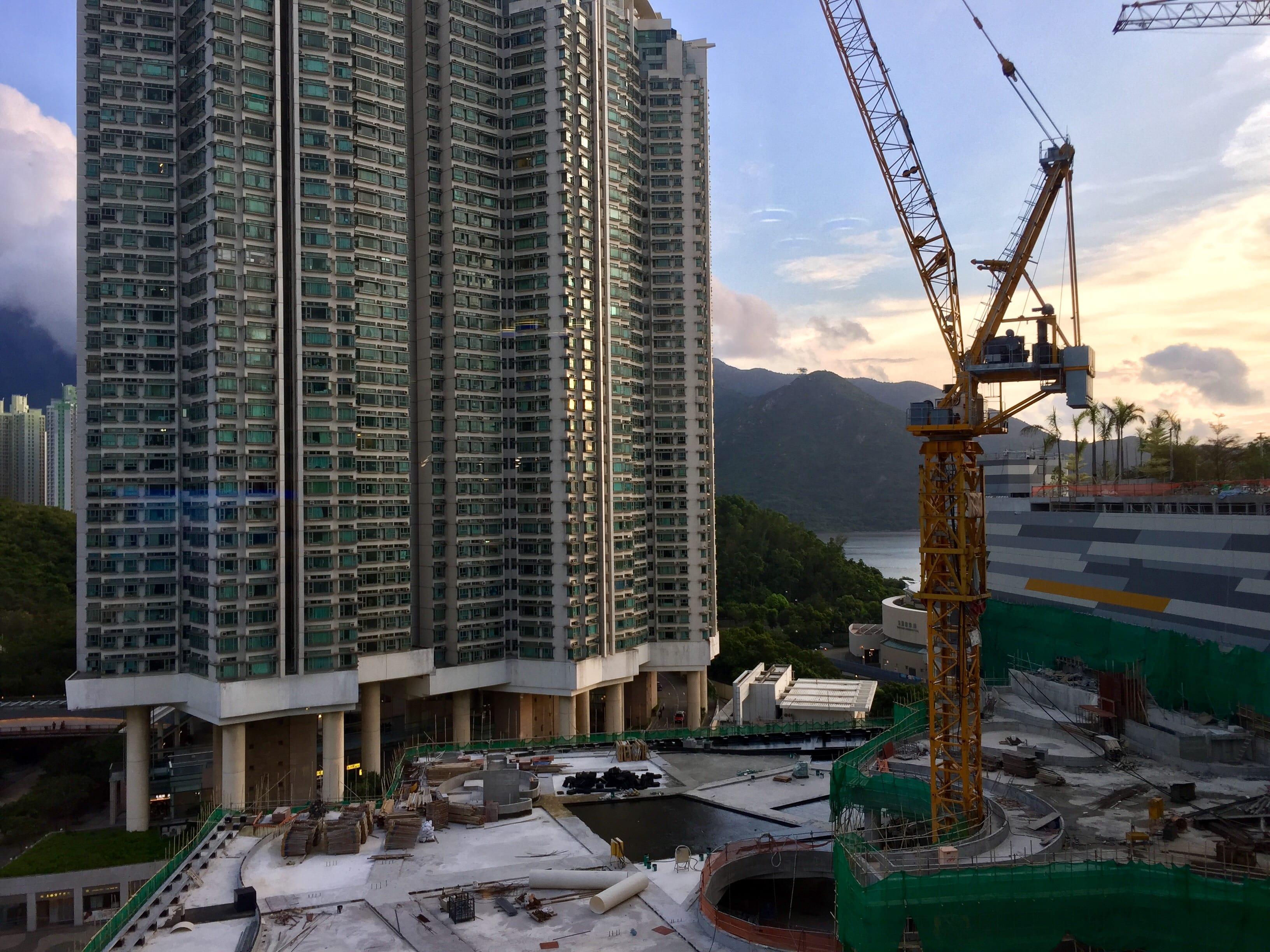 Sunset at Tung Chung