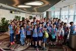 NPGPS STEM Team at Changi International Airport