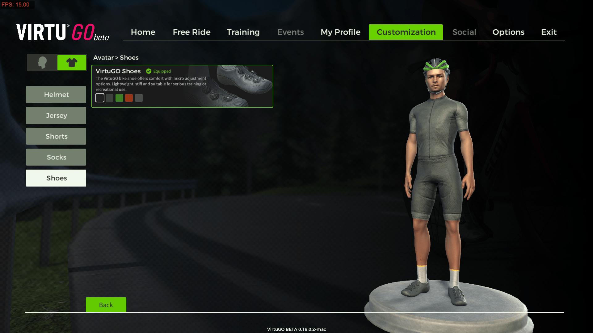 My look in the VirtuGO platform