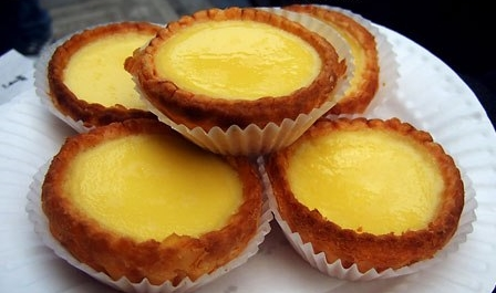 Egg-tarts with Butter Pastry Base