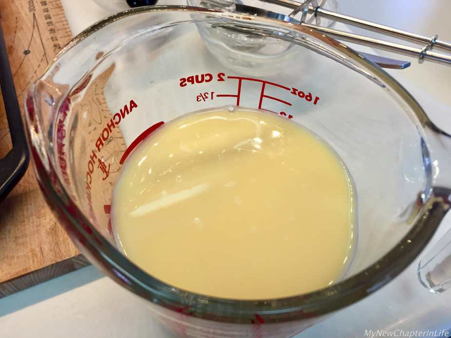 Egg-tart filling