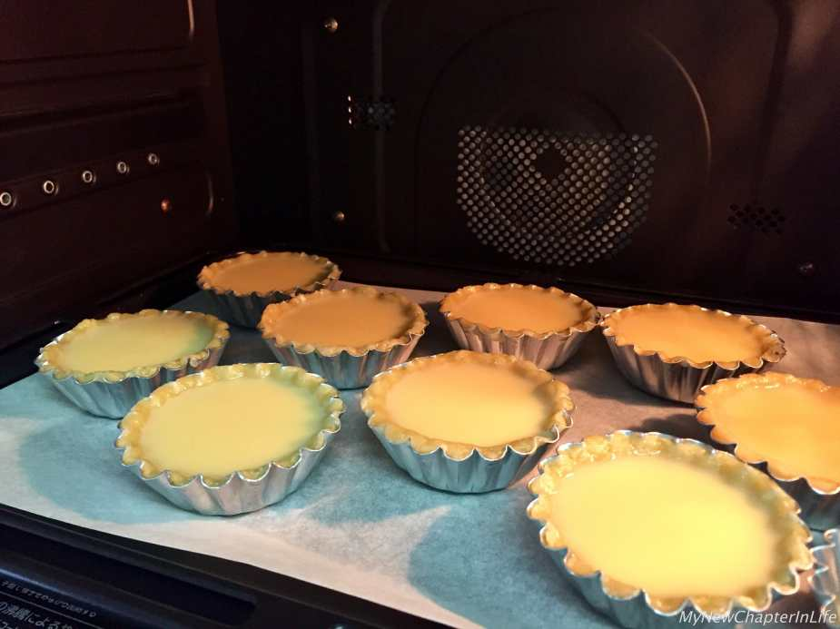 Bake in the pre-heated oven