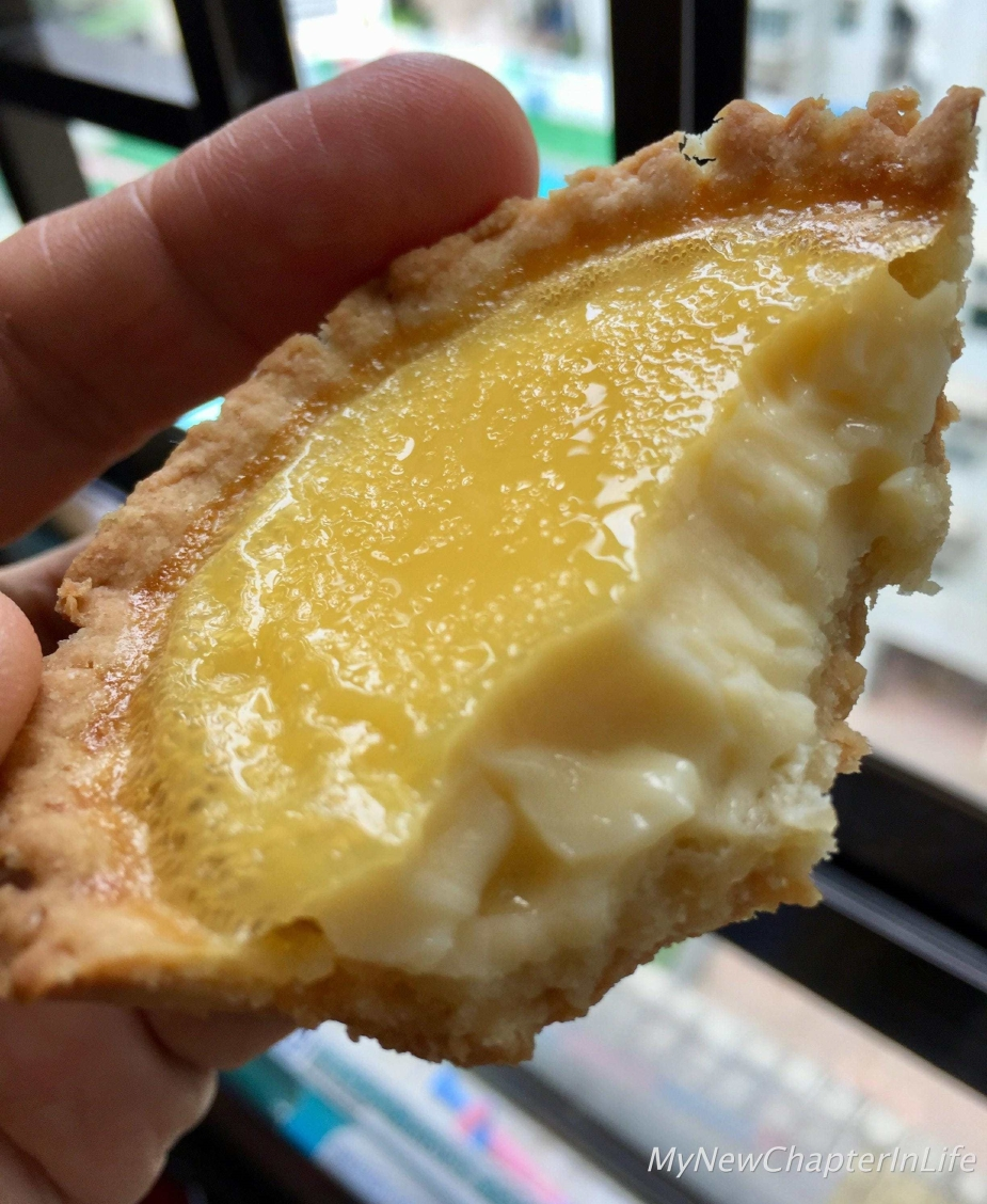 Enjoy a bite of my Egg-tart