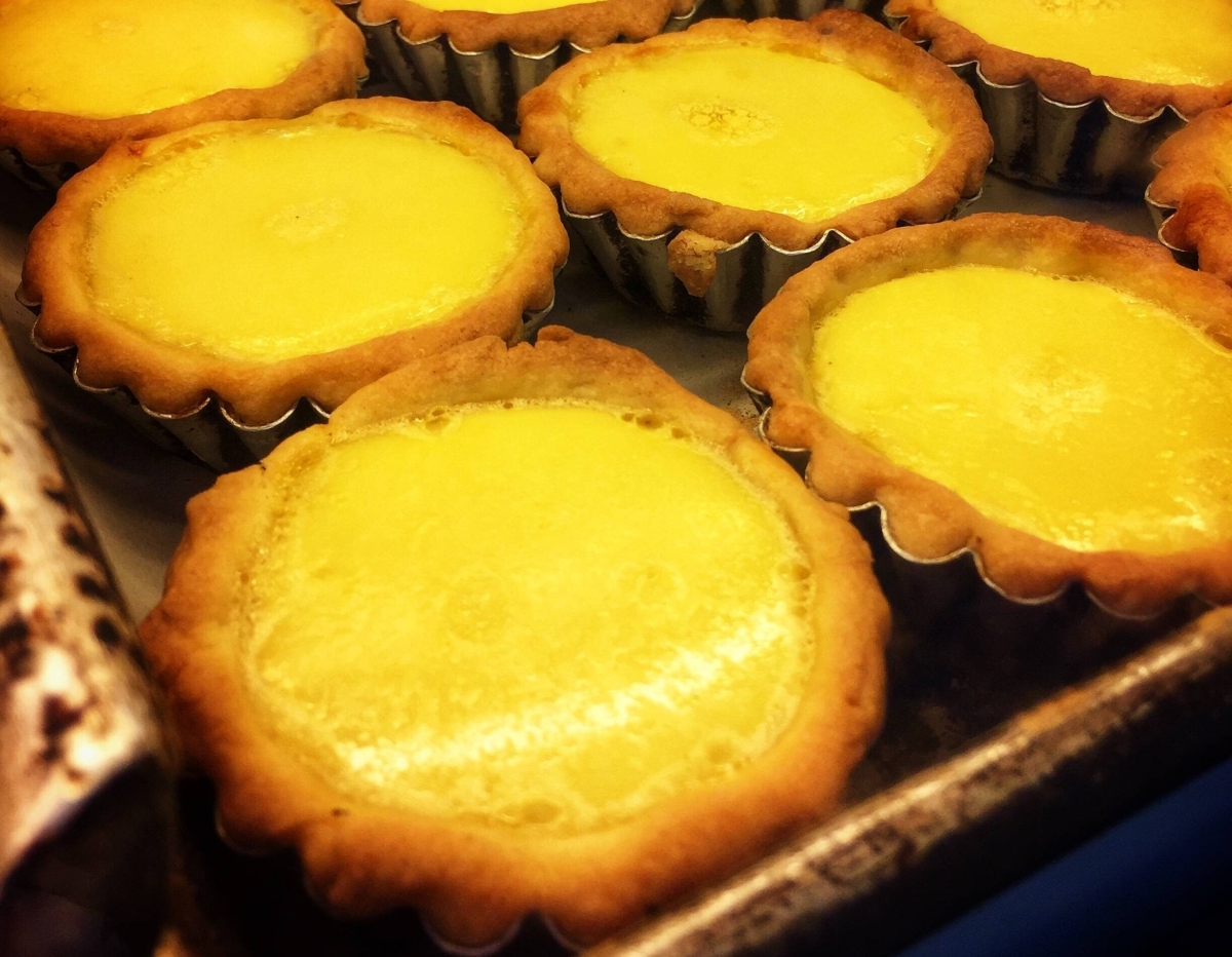 Hong Kong Style Egg Tart - My First Attempt