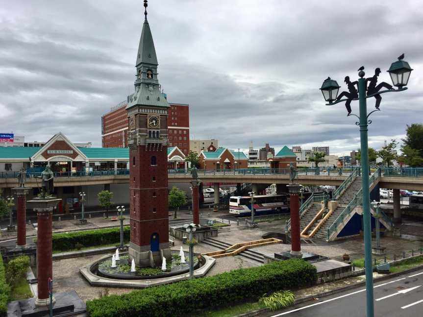 Kurashiki JR Station Clock Tower