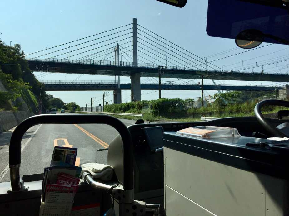 Towards the Onomichi Bridge