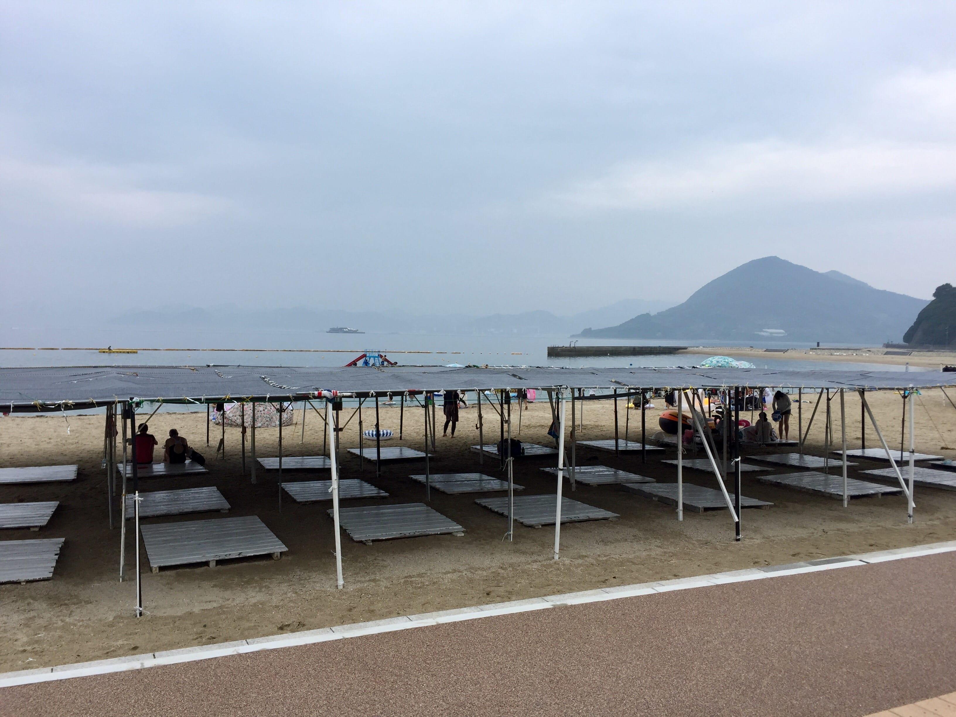 Setoda Sunset Beach at Ikuchijima