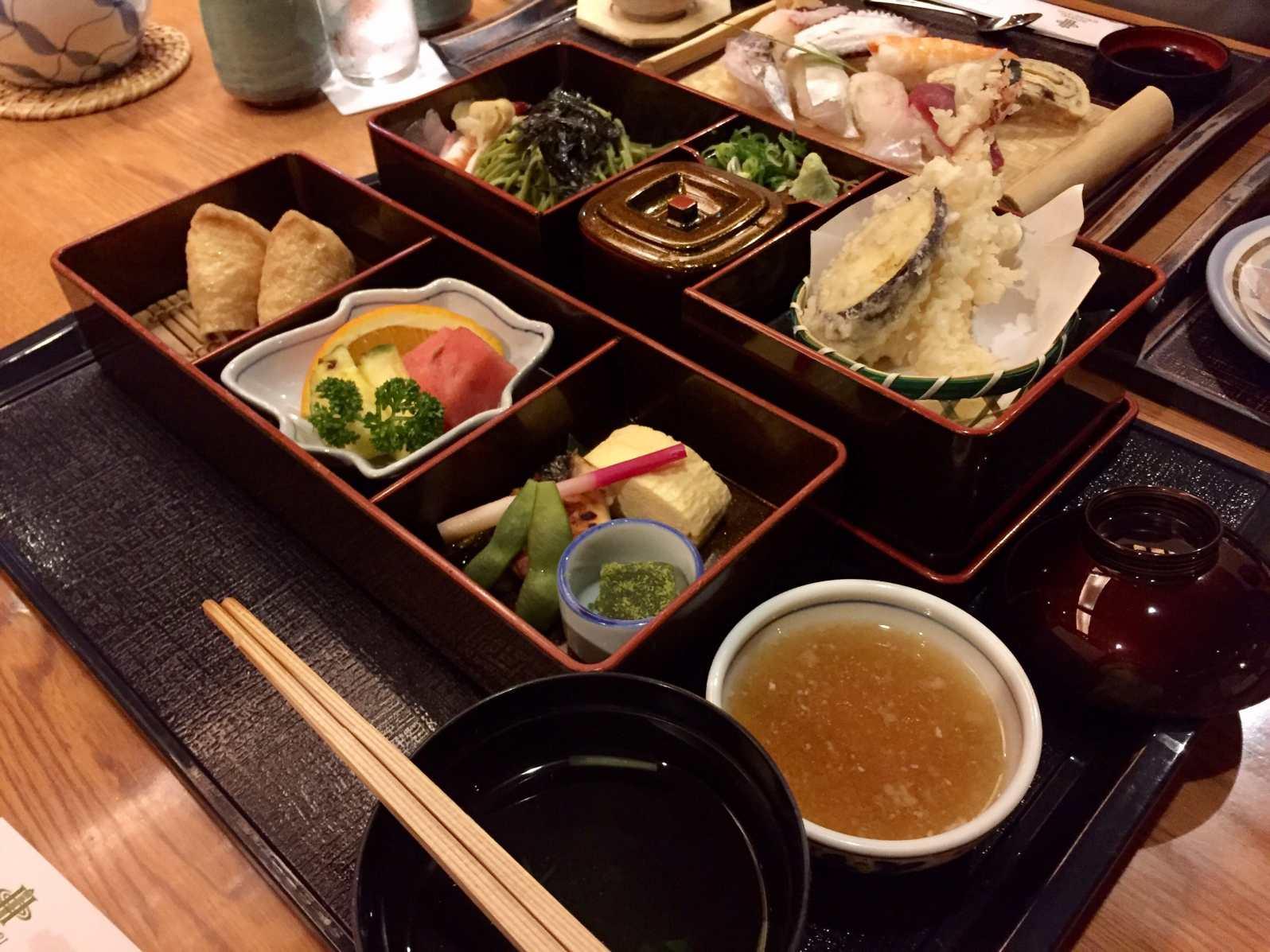 My Japanese set dinner