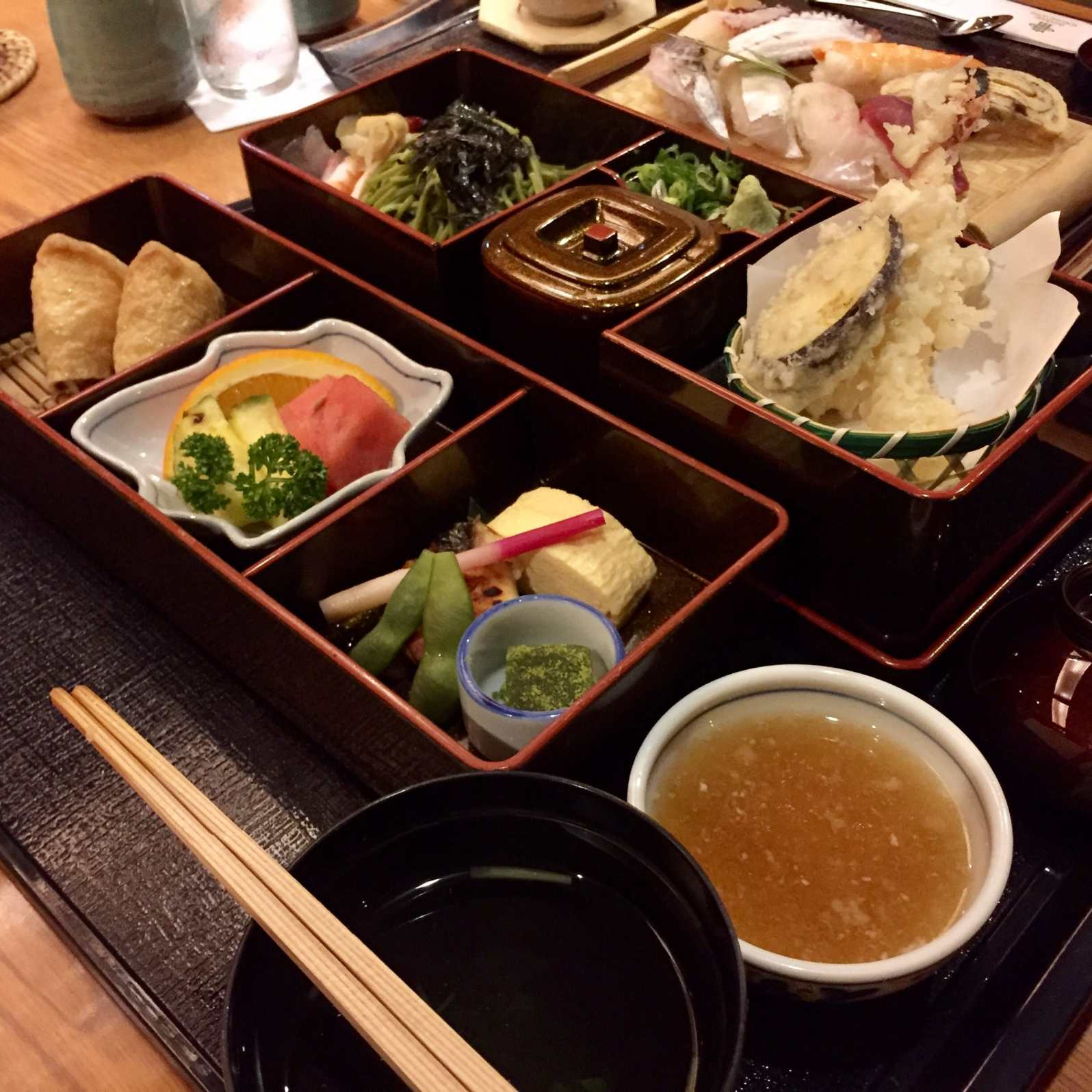 My Japanese set dinner
