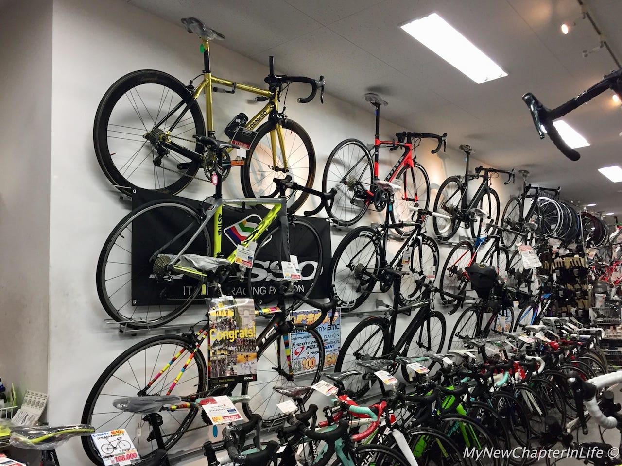 Fully assembled Road Bikes