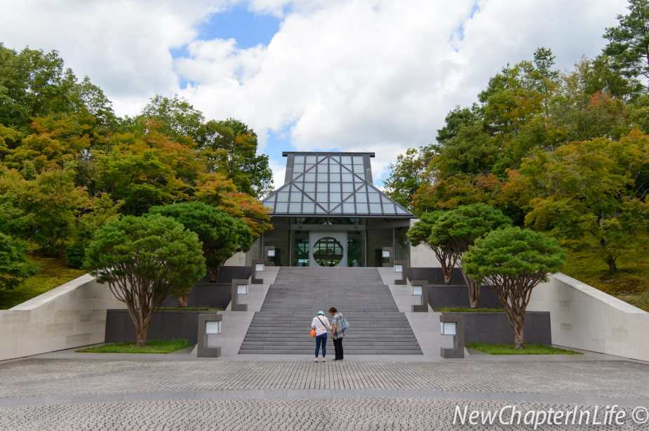Miho Museum - A traditional Japanese style building that harmonised with the surrounding