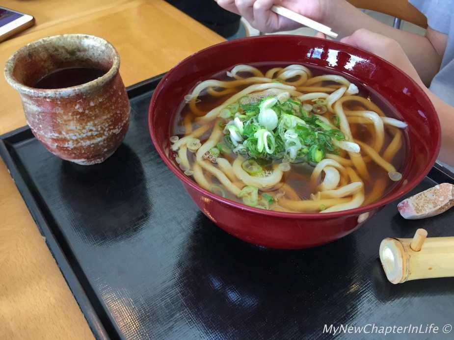 Hot Udon set meal