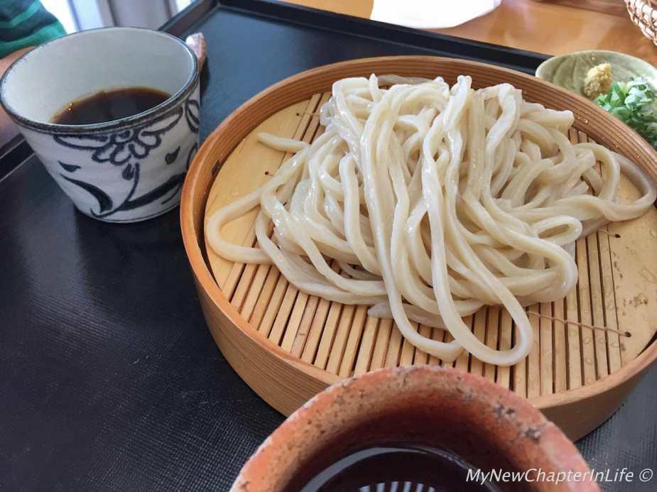 Chilled Udon set meal