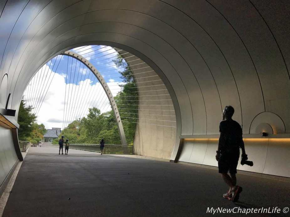The wonderful Miho Museum on the other side of the tunnel