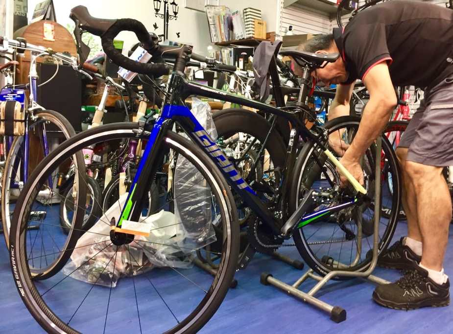 08547a1eb09 Final setup of the new 2019 Giant TCR Advanced 1-KOM