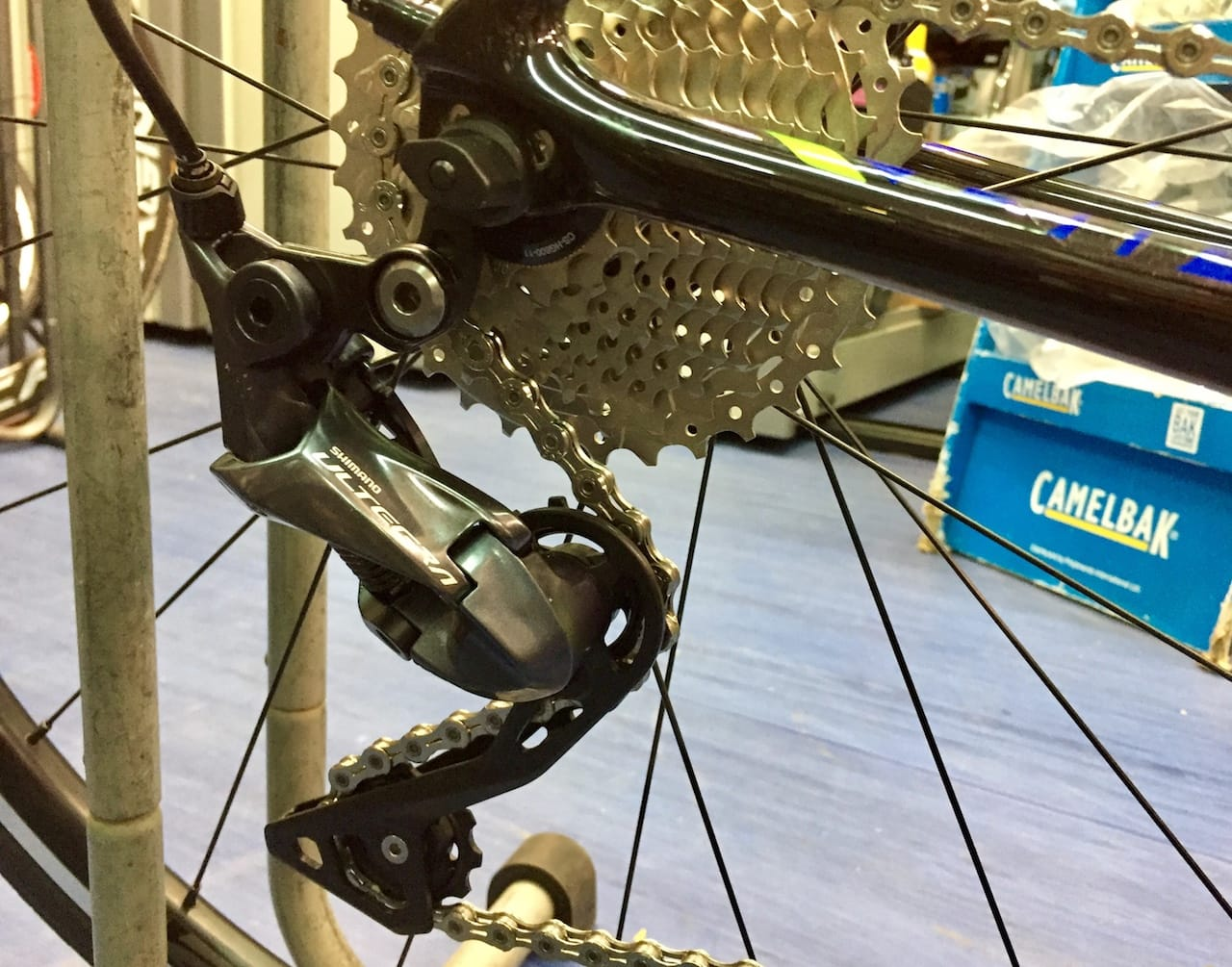 New Shimano Ultegra R8000 Rear-derailleur and 11x34 Cassette