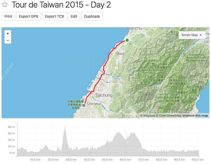 Tour de Taiwan - Day 2
