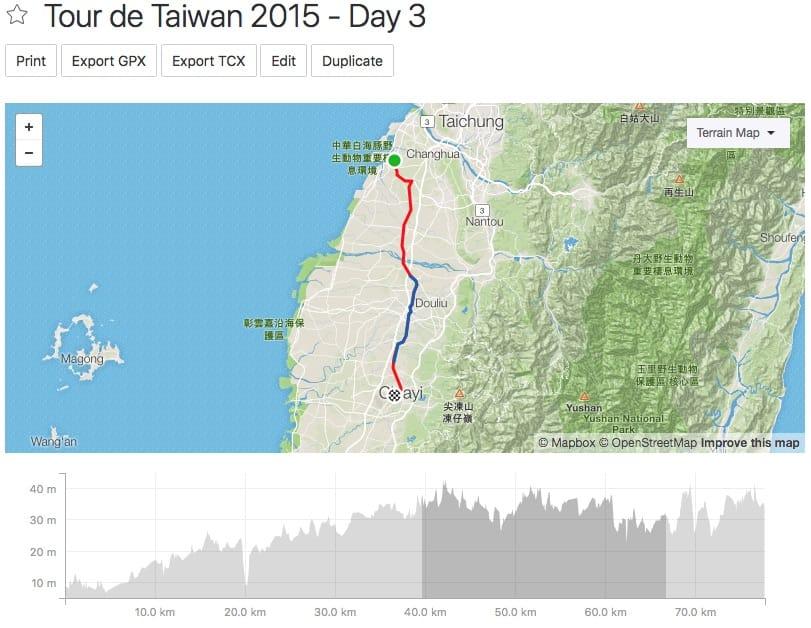 Tour de Taiwan - Day 3