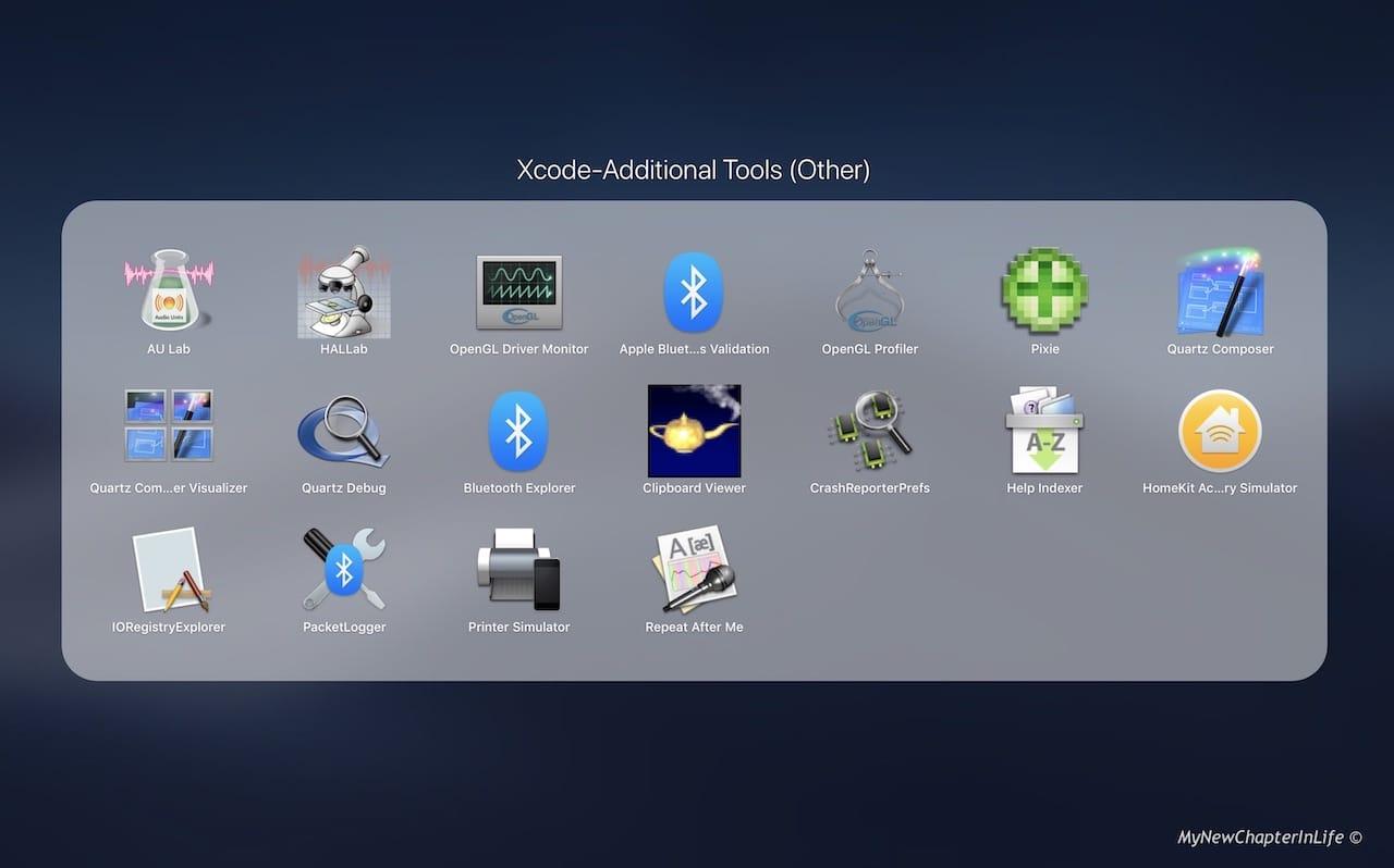 Xcode Addditional Tools