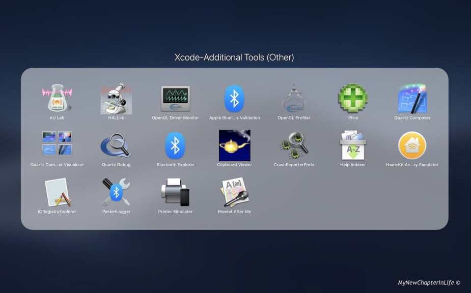 Xcode Addditional Tools