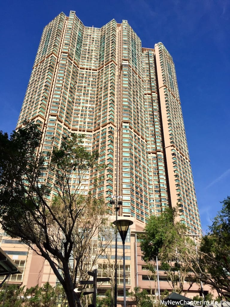 Island Resort - high-rise residential complex next to the Siu Sai Wan Promenade