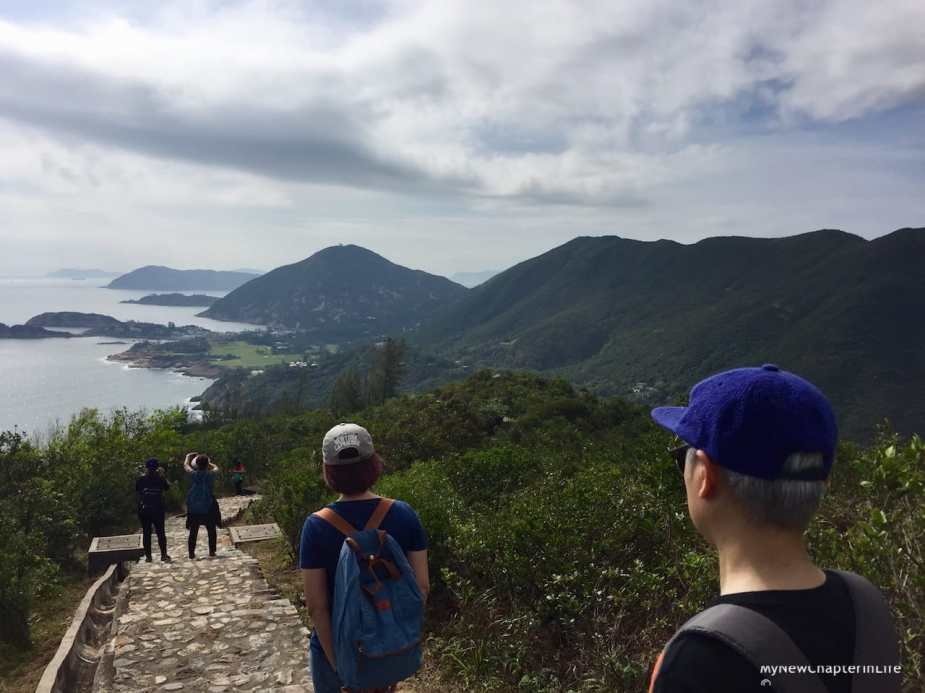 Cape D'aguilar and Shek O in the background