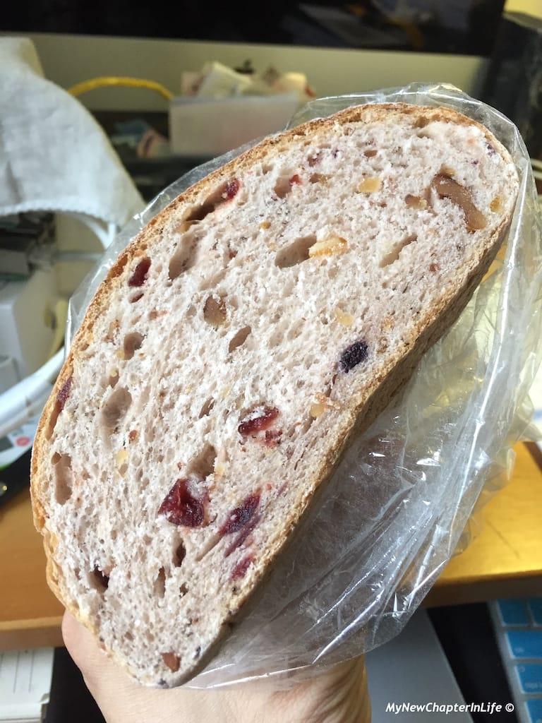 紅莓雜果乾合桃麵包 Cranberry, dried-fruits with Walnut Bread